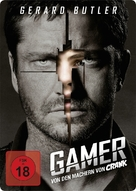 Gamer - German Movie Cover (xs thumbnail)