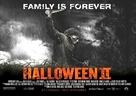 Halloween II - British Movie Poster (xs thumbnail)