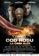Olympus Has Fallen - Romanian Movie Poster (xs thumbnail)