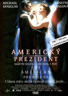 The American President - Czech Movie Poster (xs thumbnail)