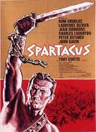 Spartacus - German Movie Poster (xs thumbnail)