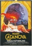Il Casanova di Federico Fellini - German Movie Poster (xs thumbnail)