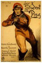Der Student von Prag - German Movie Poster (xs thumbnail)