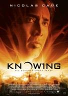 Knowing - German Movie Poster (xs thumbnail)