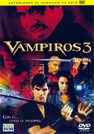 Vampires 3 - Spanish Movie Cover (xs thumbnail)