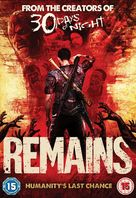 Steve Niles' Remains - British DVD cover (xs thumbnail)