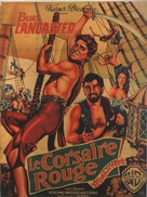 The Crimson Pirate - French Movie Poster (xs thumbnail)