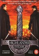 Highlander: Endgame - Dutch DVD movie cover (xs thumbnail)