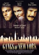 Gangs Of New York - Estonian Movie Poster (xs thumbnail)