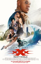 xXx: Return of Xander Cage - Polish Movie Poster (xs thumbnail)