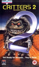 Critters 2: The Main Course - British VHS movie cover (xs thumbnail)