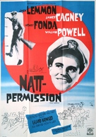 Mister Roberts - Swedish Movie Poster (xs thumbnail)