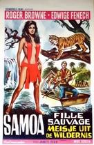 Samoa, regina della giungla - Belgian Movie Poster (xs thumbnail)