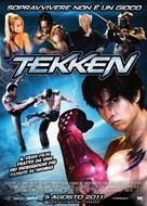 Tekken - Italian Movie Poster (xs thumbnail)