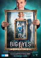 Big Eyes - Australian Movie Poster (xs thumbnail)