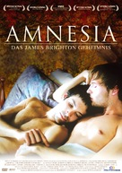 Amnesia: The James Brighton Enigma - German Movie Cover (xs thumbnail)