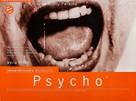 Psycho - British Movie Poster (xs thumbnail)