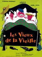 Les vieux de la vieille - French Movie Poster (xs thumbnail)
