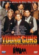 Young Guns - Italian DVD movie cover (xs thumbnail)