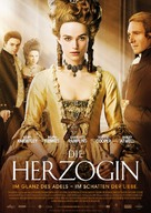 The Duchess - German Movie Poster (xs thumbnail)