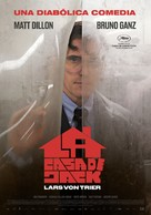 The House That Jack Built - Spanish Movie Poster (xs thumbnail)