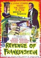 The Revenge of Frankenstein - Australian Movie Poster (xs thumbnail)