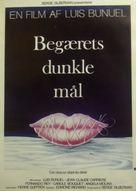 Cet obscur objet du désir - Danish Movie Poster (xs thumbnail)