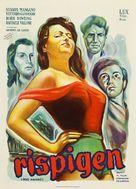 Riso amaro - Danish Movie Poster (xs thumbnail)