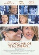 Something's Gotta Give - Spanish Movie Poster (xs thumbnail)