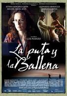 La puta y la ballena - Argentinian Movie Poster (xs thumbnail)