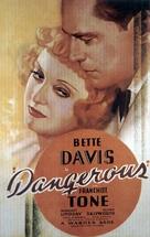 Dangerous - Movie Poster (xs thumbnail)