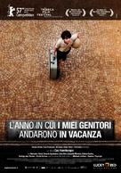 O Ano em Que Meus Pais Saíram de Férias - Italian Movie Poster (xs thumbnail)