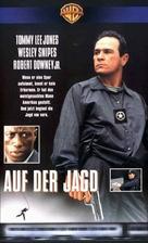 US Marshals - German VHS movie cover (xs thumbnail)