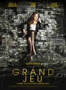 Molly's Game - French Movie Poster (xs thumbnail)