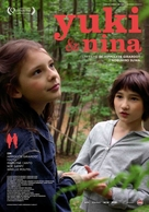 Yuki & Nina - Portuguese Movie Poster (xs thumbnail)