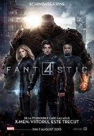 Fantastic Four - Romanian Movie Poster (xs thumbnail)