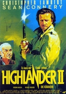 Highlander 2 - German Movie Poster (xs thumbnail)