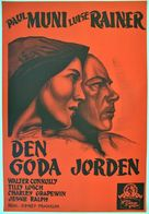 The Good Earth - Swedish Movie Poster (xs thumbnail)