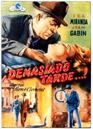 Mura di Malapaga, Le - Spanish Movie Poster (xs thumbnail)