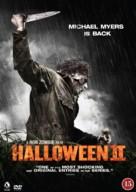 Halloween II - Danish Movie Cover (xs thumbnail)