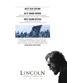 Lincoln - For your consideration poster (xs thumbnail)
