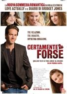 Definitely, Maybe - Italian Movie Poster (xs thumbnail)