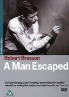 Un condamné à mort s'est échappé ou Le vent souffle où il veut - British DVD cover (xs thumbnail)
