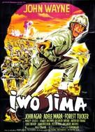 Sands of Iwo Jima - French Movie Poster (xs thumbnail)