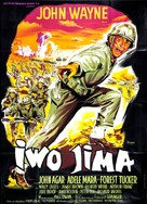 Sands of Iwo Jima - French Movie Poster (xs thumbnail)