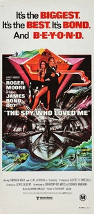 The Spy Who Loved Me - Australian Movie Poster (xs thumbnail)