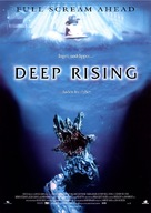 Deep Rising - Danish Movie Poster (xs thumbnail)