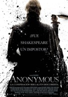 Anonymous - Spanish Movie Poster (xs thumbnail)