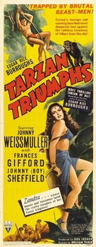 Tarzan Triumphs - Movie Poster (xs thumbnail)