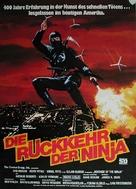 Revenge Of The Ninja - German Movie Poster (xs thumbnail)